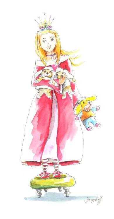 la princesse aux doudous